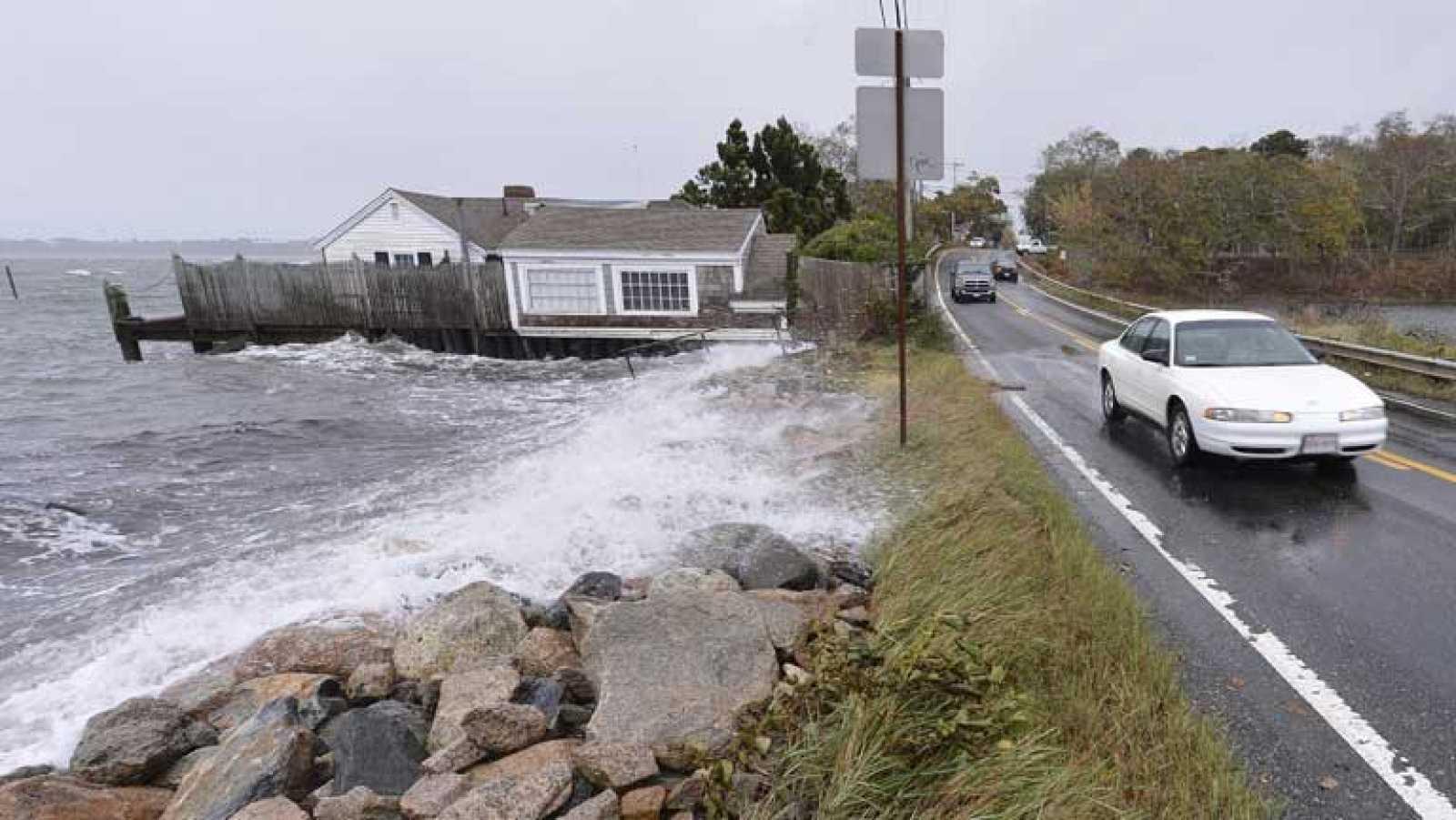 La tormenta Sandy ha dejado su rastro en varias ciudades de la costa este