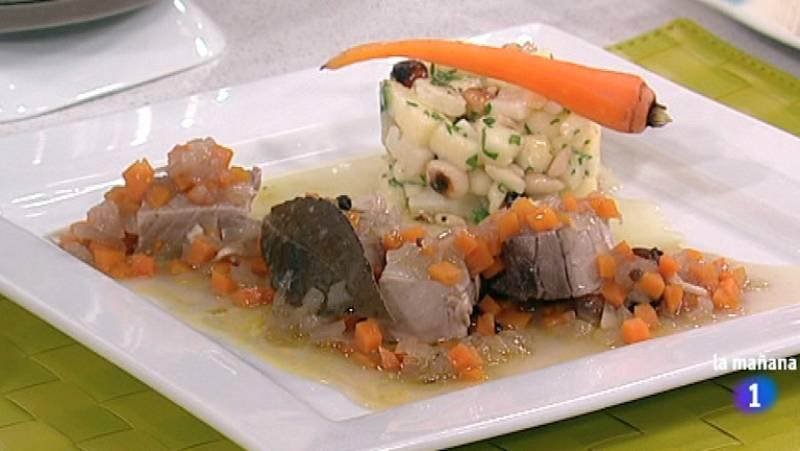 La mañana de La 1 - Atún escabechado con ensalada de queso y frutos secos