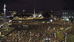 Protestas multitudinarias rechazan los ajustes en toda España