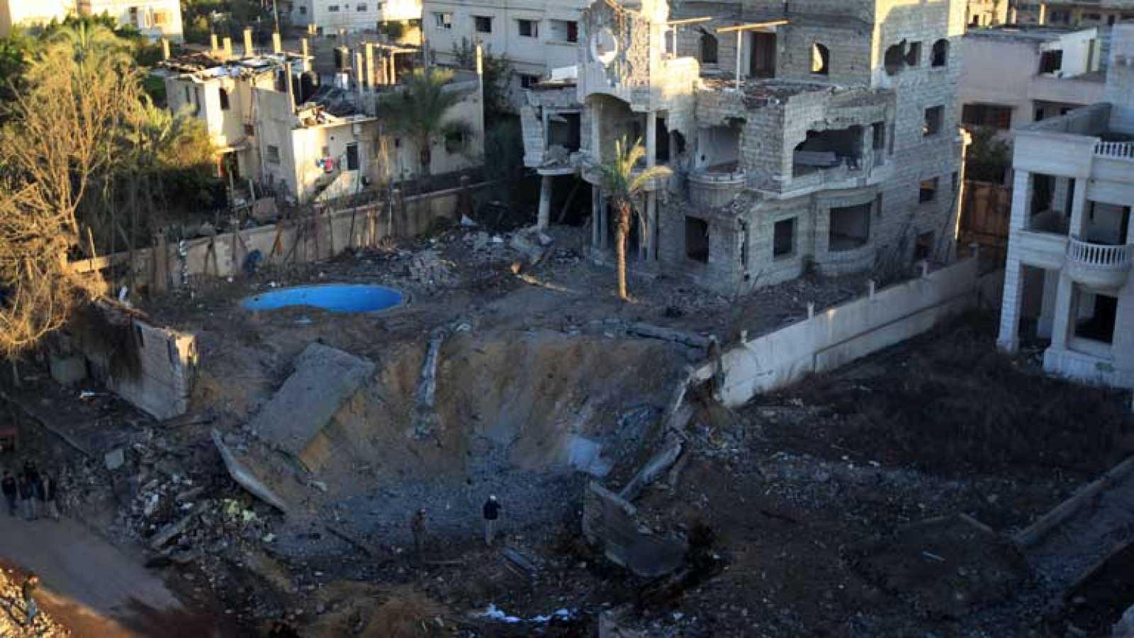 Enfrentamientos en Gaza entre Hamas e israelíes