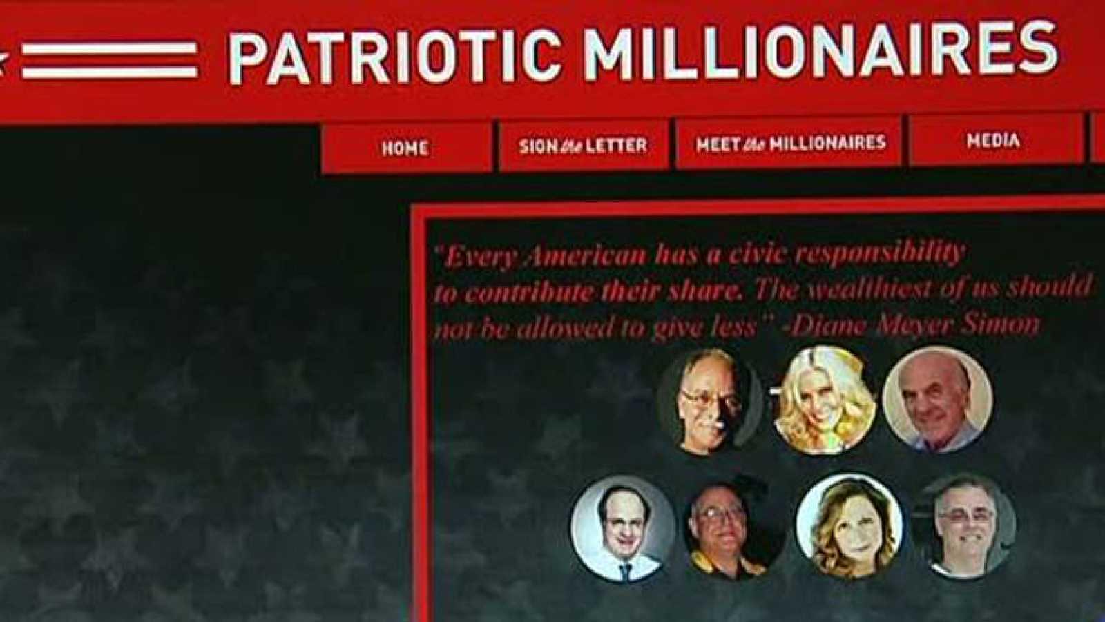 Millonarios de EE.UU piden a Obama que suba los impuestos