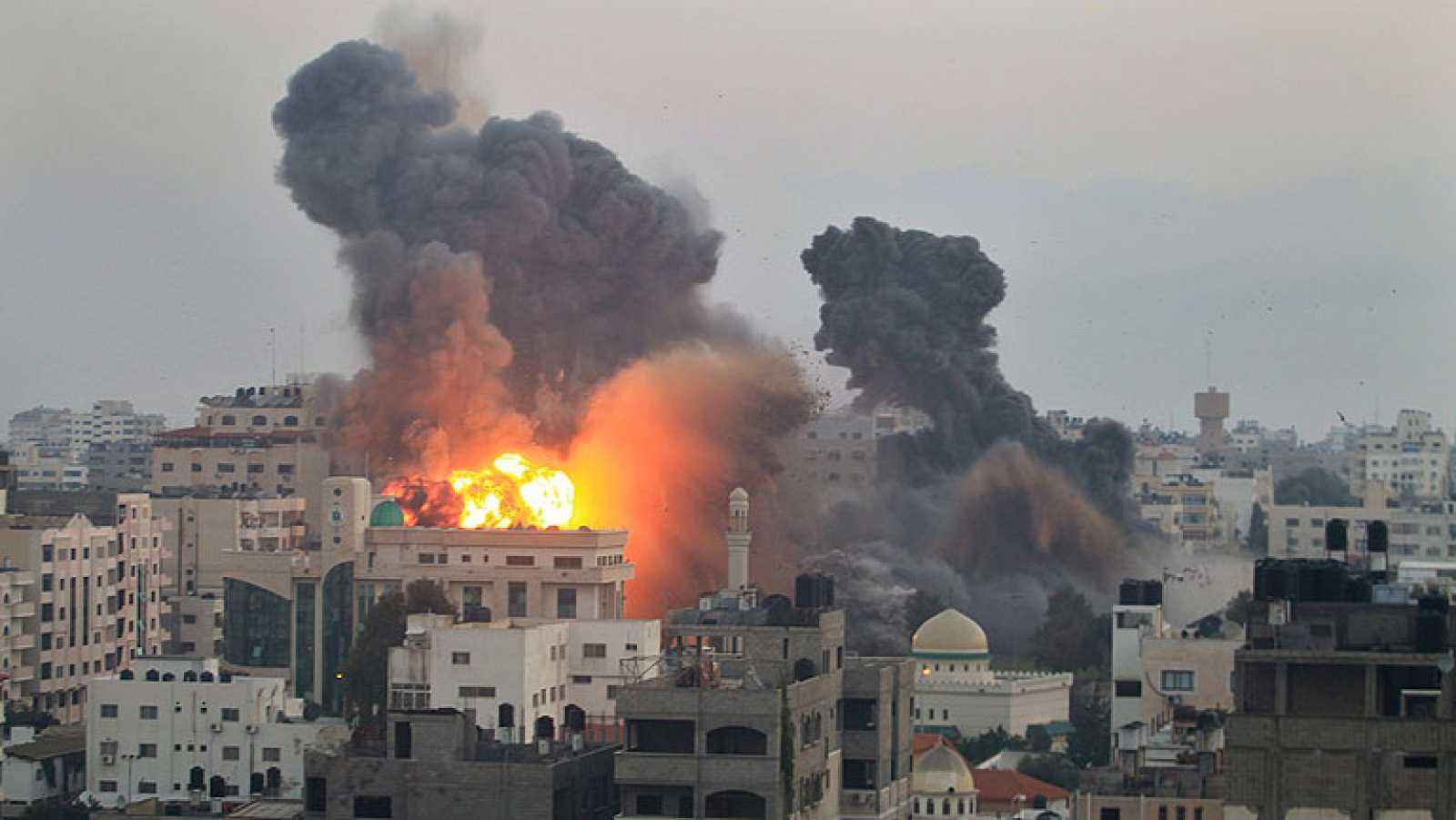 Gaza espera en vilo una tregua o la guerra total | RTVE.es