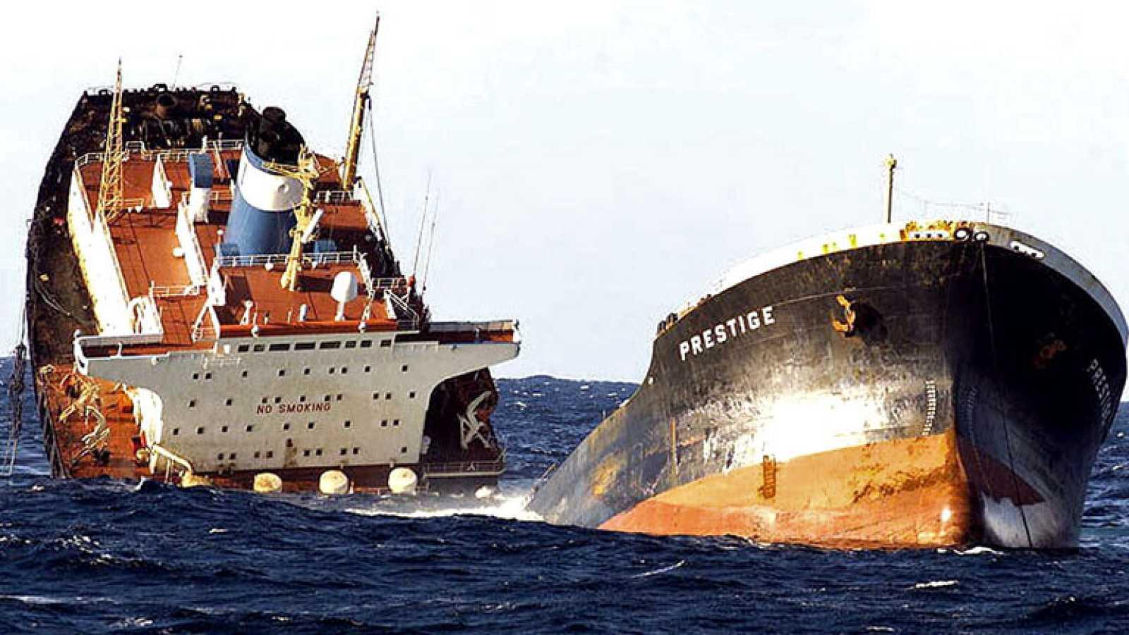 Hoy ha declarado el jefe de máquinas del 'Prestige', que ha insistido en que el buque funcionaba bien cuando se produjo el accidente