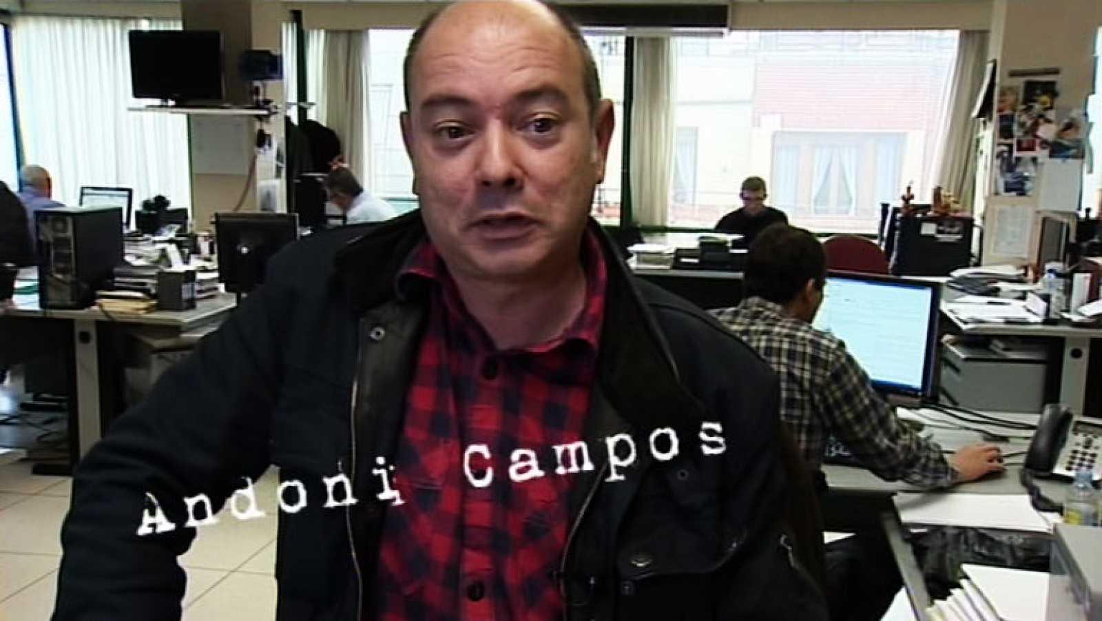 El ojo en la noticia - Mikel Arregui visto por Andoni Campos - Ver ahora