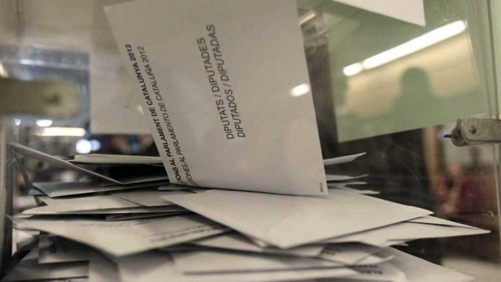Participación alta en las elecciones catalanas