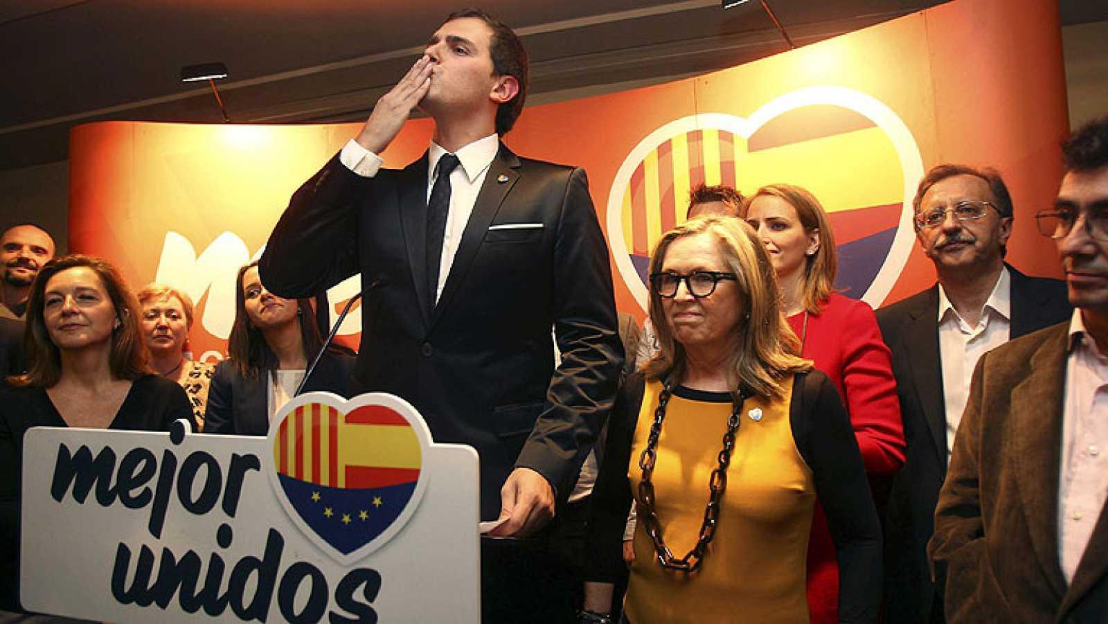 Ciutadans obtiene el mejor resultado de su historia y logra grupo propio en el Parlament
