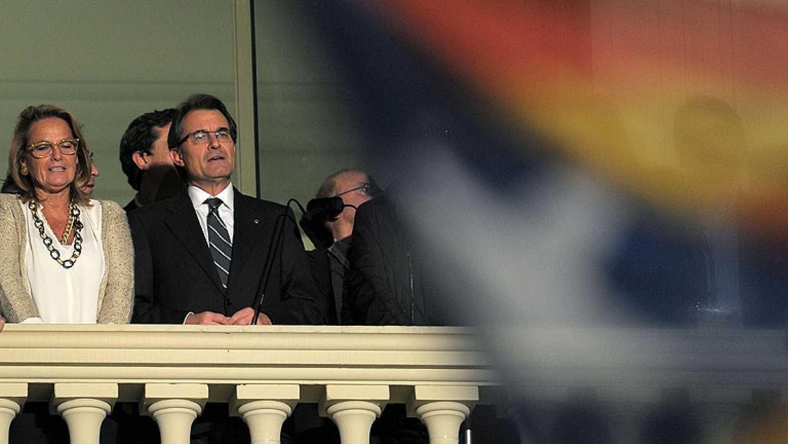 La deriva soberanista de CiU duplica los escaños de ERC