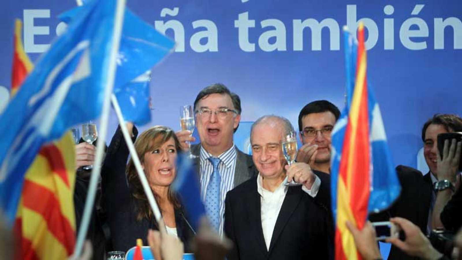 """El PP habla de """"importante varapalo"""" para las políticas independentistas de CiU"""