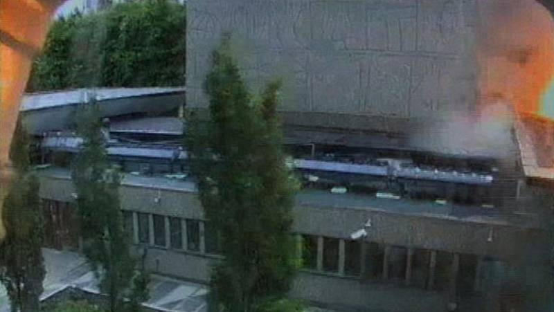 Nuevas imágenes del atentado contra las oficinas del gobierno en Oslo