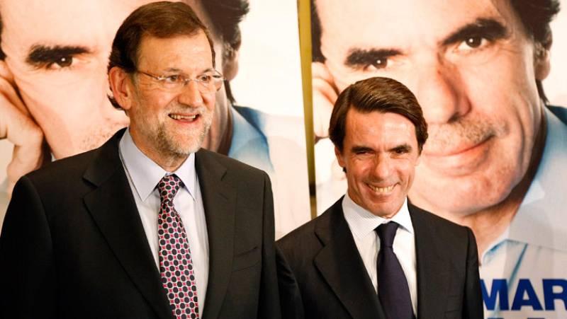 La presentación del libro de Aznar junta a Rajoy y Rato