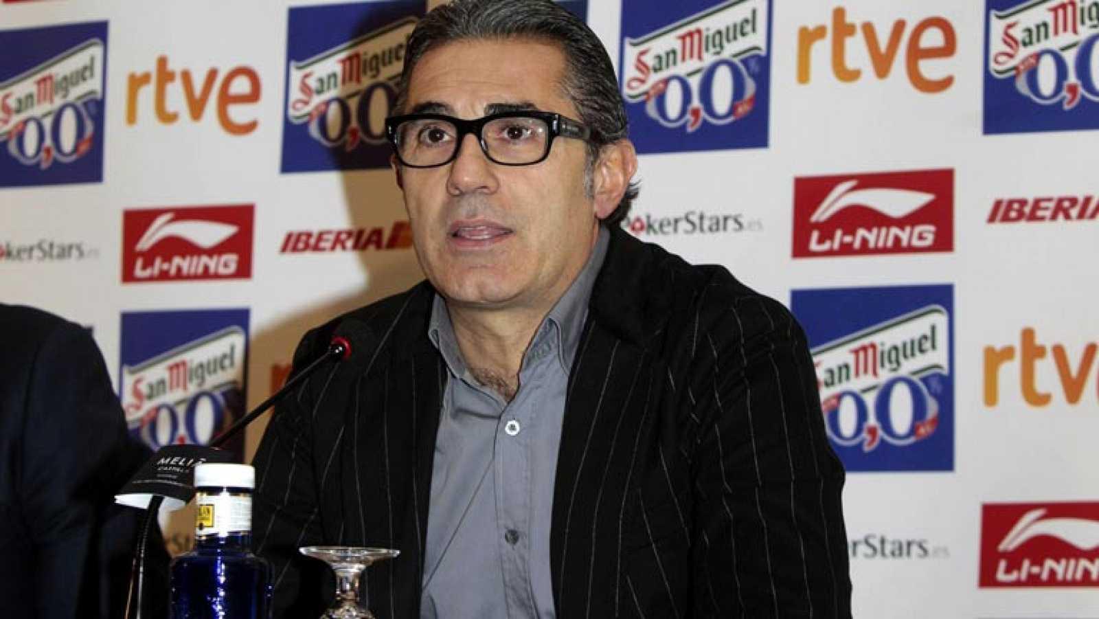 Orenga sustituye a Scariolo en la selección española de baloncesto