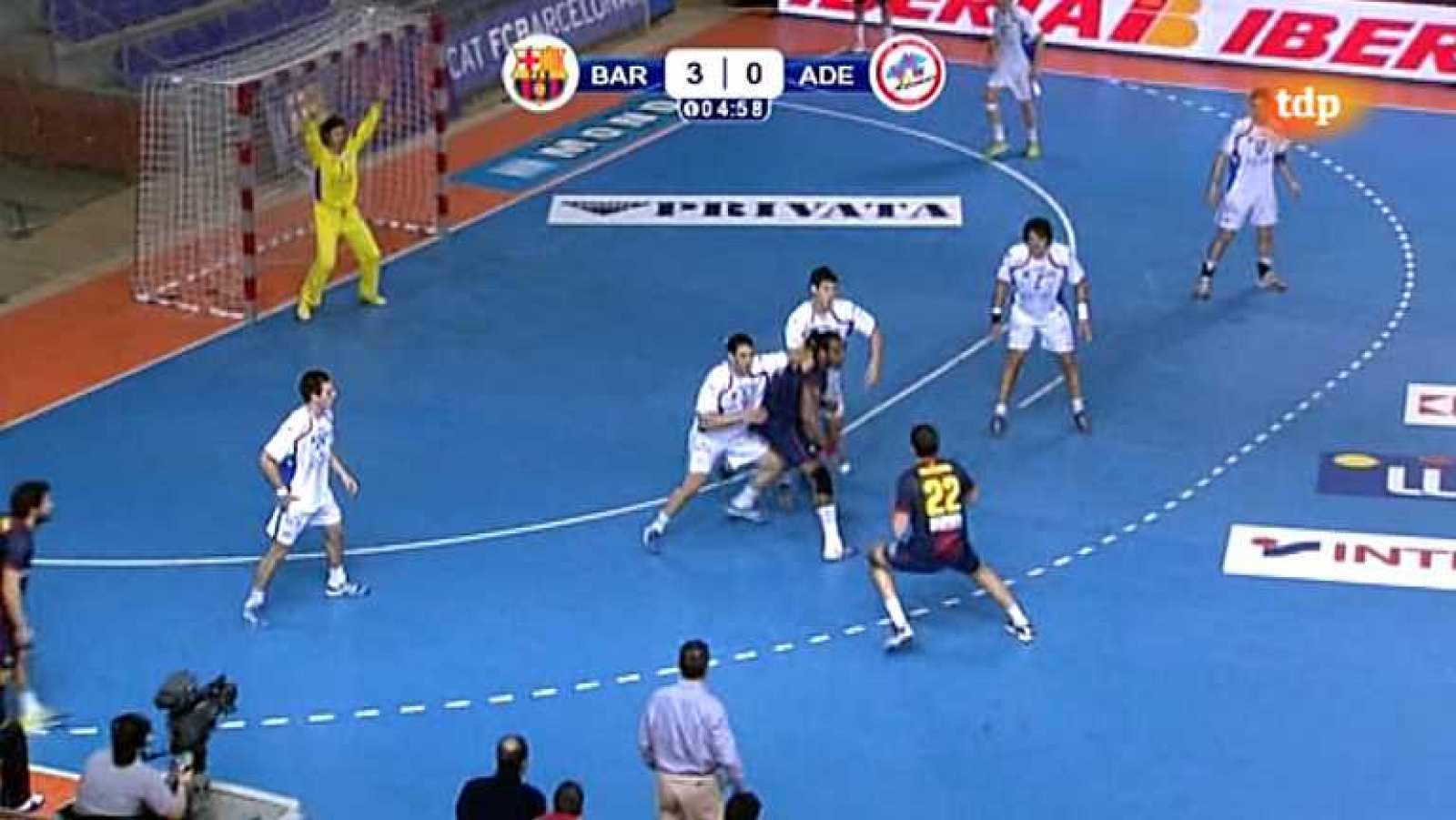 Balonmano - Liga de campeones. 7ª jornada: FC Barcelona Intersport - Kadetten Schaffhausen - Ver ahora
