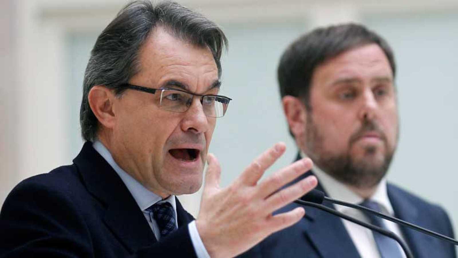 Artur Mas será investido el próximo jueves como presidente de la Generalitat