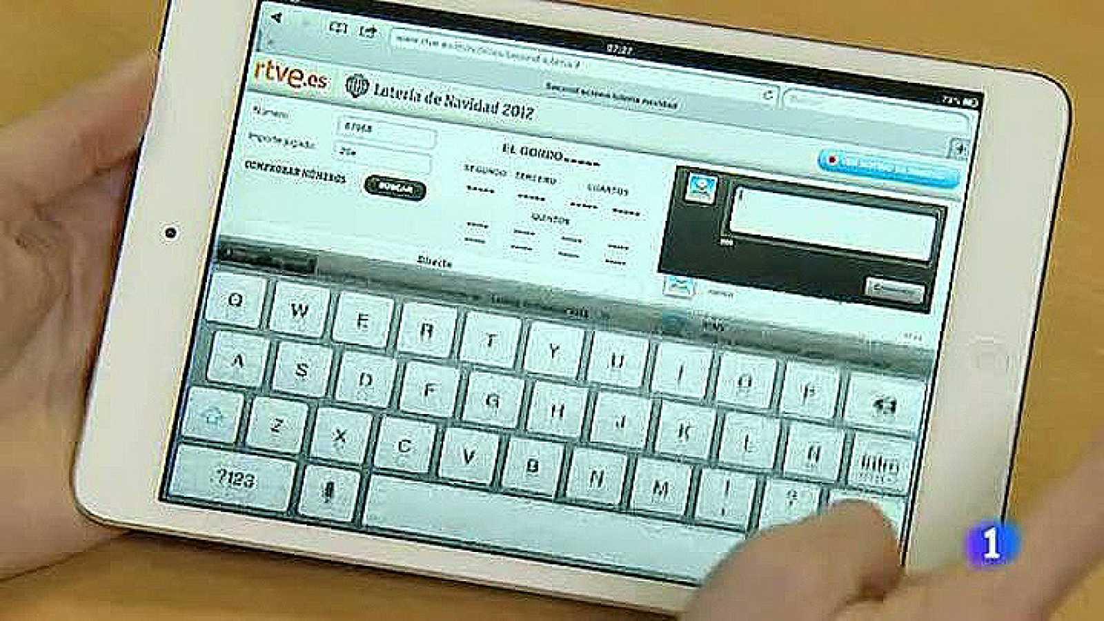 La Web de RTVE.es tiene en funcionamiento el portal de la Lotería de Navidad con algunas novedades