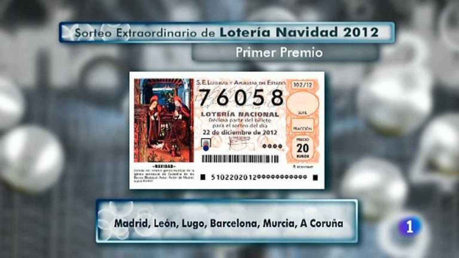 Comprobar Decimo Loteria Navidad 2012 Sorteo De La Loteria De Navidad 2012 Tercera Hora Rtve Es