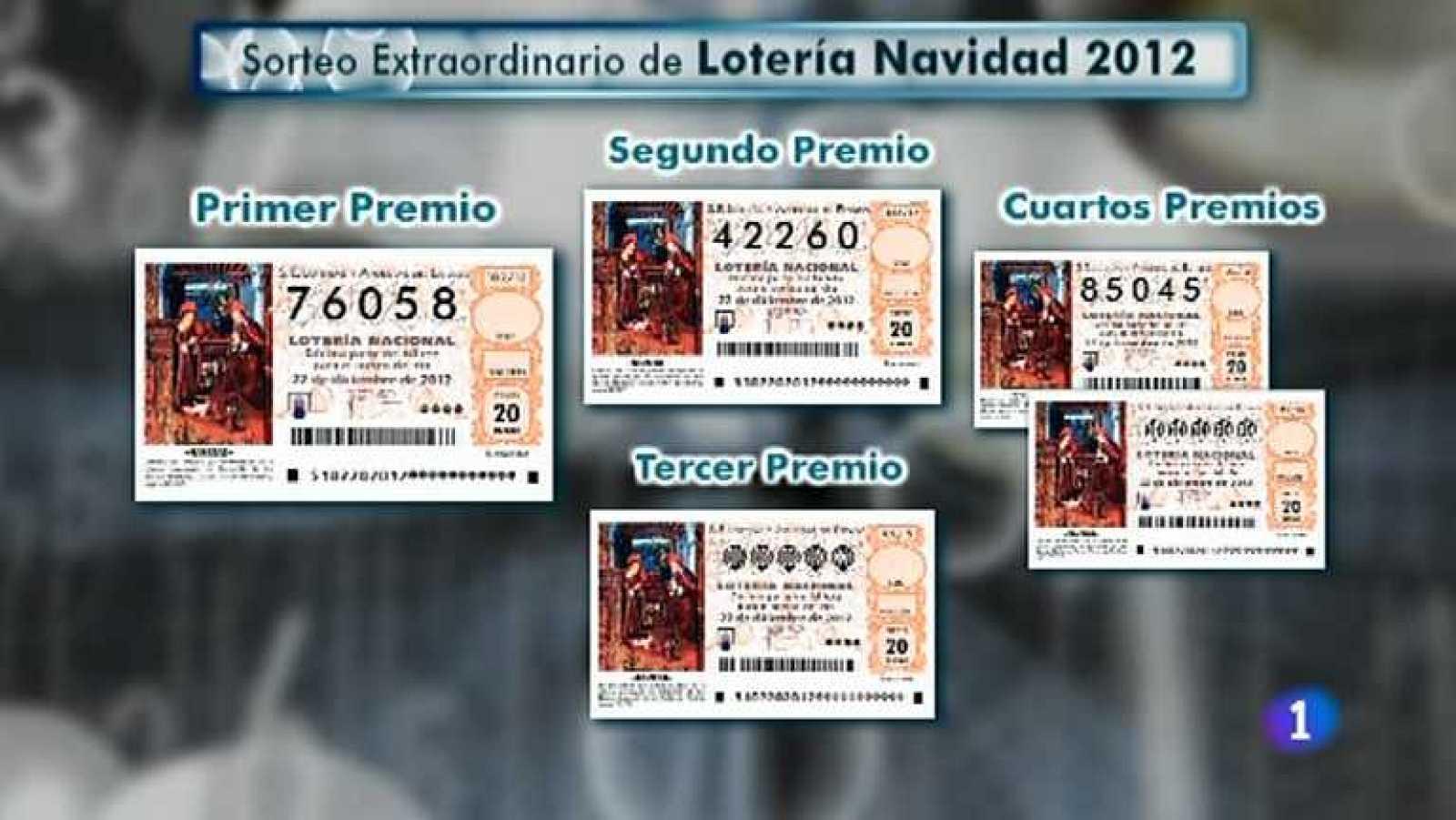 Comprobar Decimo Loteria Navidad 2012 Sorteo De La Loteria De Navidad 2012 Cuarta Hora Rtve Es