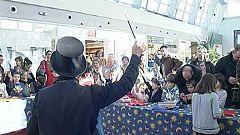 Zaragoza se convierte estos días en la capital internacional de la magia de calle