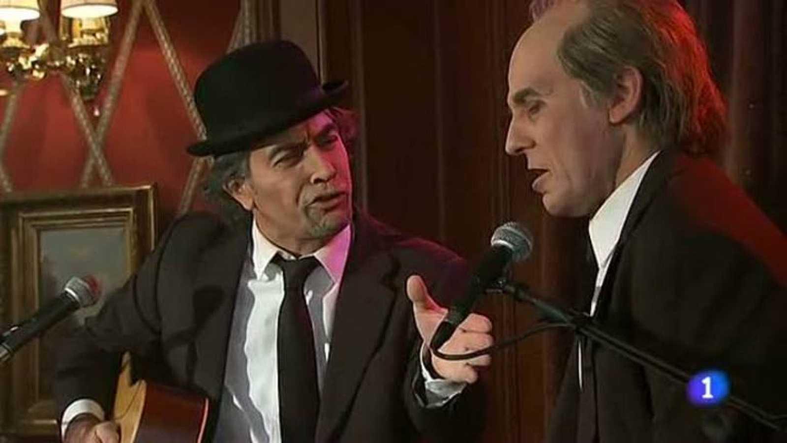 Especial Nochevieja 2012 - Hotel 13 estrellas 12 uvas - Sabina y Serrat - ver vídeo