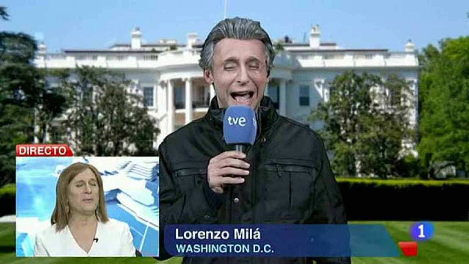 Especial Nochevieja 2012 - Hotel 13 estrellas 12 uvas - Ana Blanco y Lorenzo Milá - ver vídeo