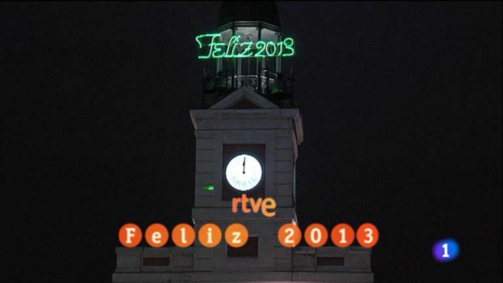 Las doce camapanadas de fin de año 2012 - ver vídeo