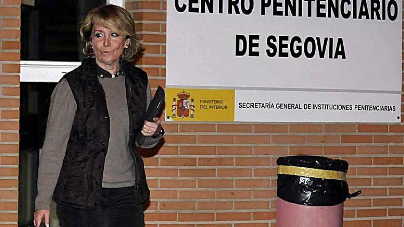"""Aguirre pide una """"investigación internacional"""" sobre la muerte de Payá tras visitar a Carromero"""