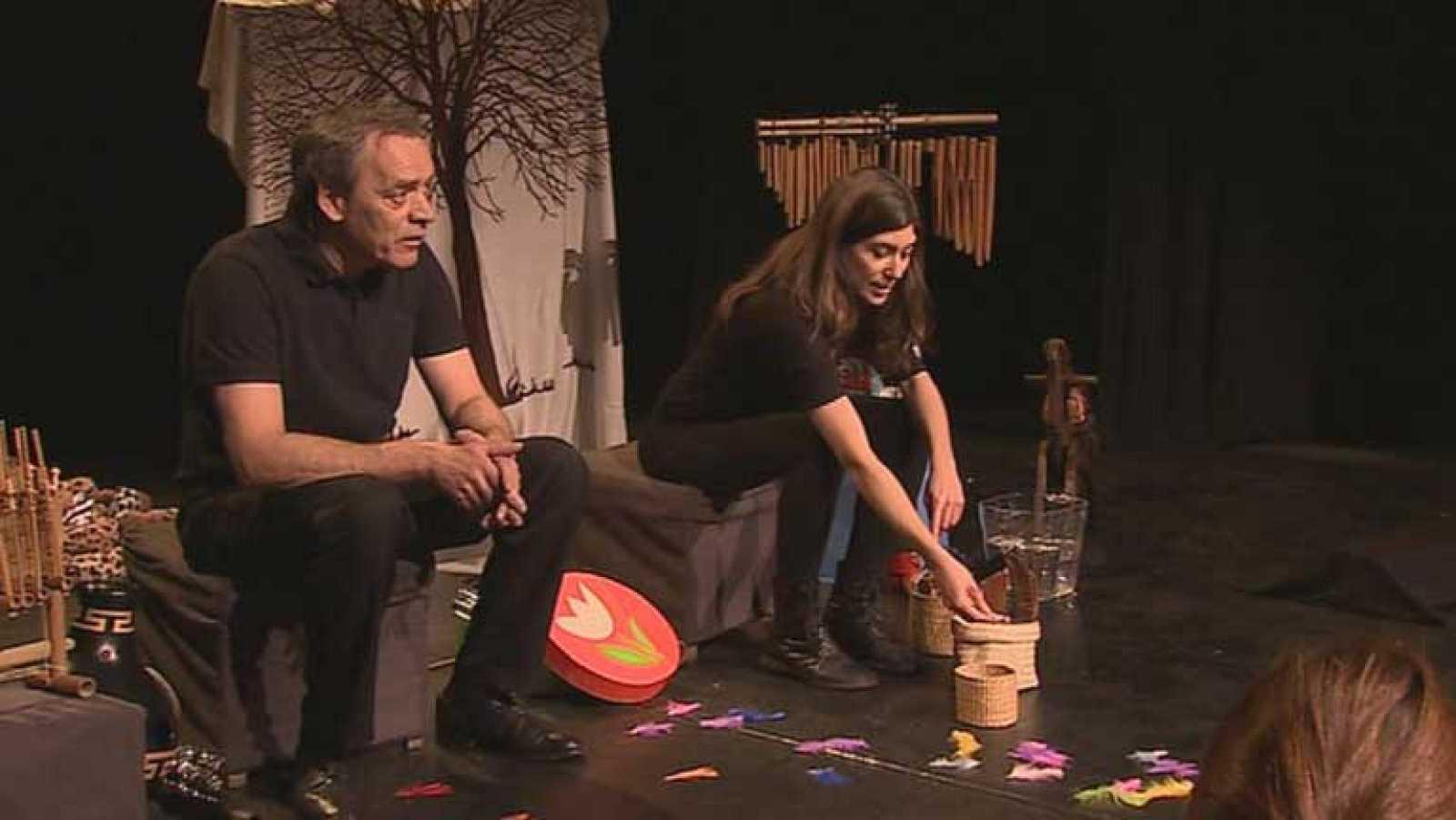 """""""Aúpa Leré"""", un espectáculo basado en la percusión y pensado para niños a partir de 3 meses"""