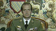 Así vivió el rey Juan Carlos la intentona golpista del 23-F