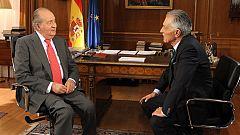"""El rey, preocupado por las """"intransigencias"""" que llevan a """"políticas rupturistas"""""""