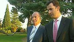 """Don Juan Carlos considera al príncipe de Asturias como """"alguien en quien tener confianza, seguridad"""""""