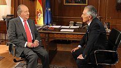 La noche del rey - Entrevista del rey Juan Carlos I con Jesús Hermida en TVE (traducida a lengua de signos)