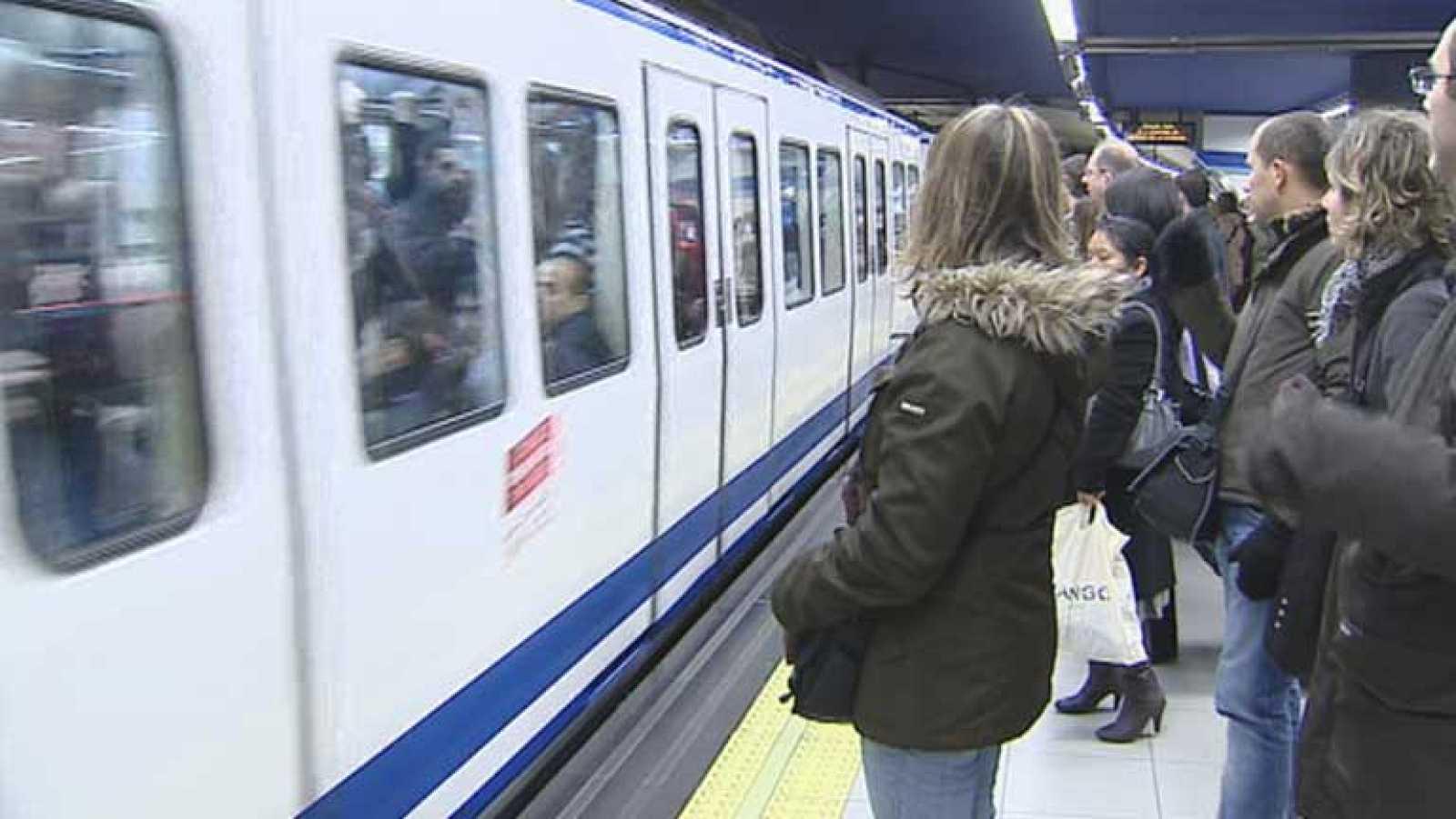 Normalidad en la segunda jornada de paros del Metro de Madrid