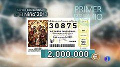Lotería del Niño 2013