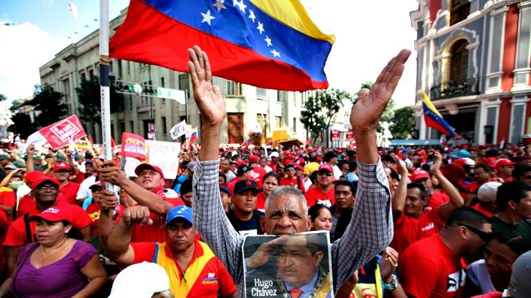 Resultado de imagen para venezuela chavista