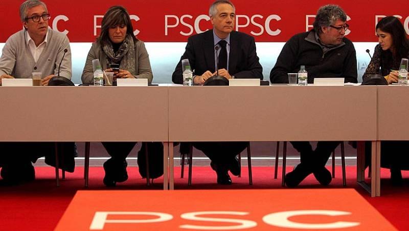 CiU y Esquerra intentan conseguir los apoyos del PSC e Iniciativa
