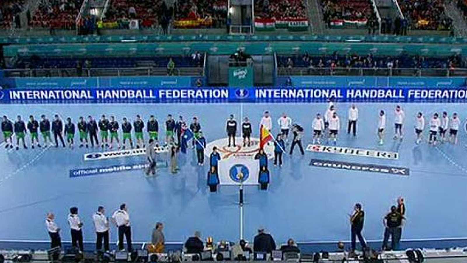 Mundial de Balonmano - Grupo D: España - Australia