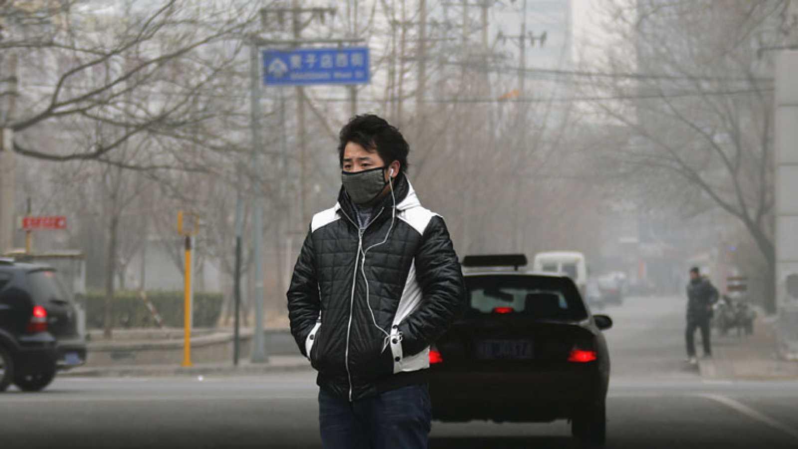 La capa de contaminación en China se ha desplazado de la capital a otras zonas