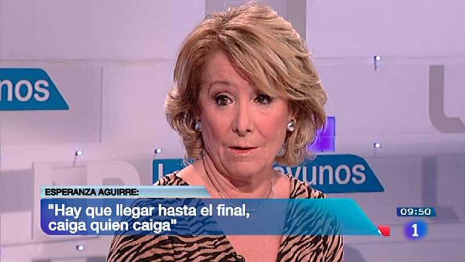 Los desayunos de TVE - Esperanza Aguirre, expresidenta de la Comunidad de Madrid y presidenta del PP de Madrid - Ver ahora
