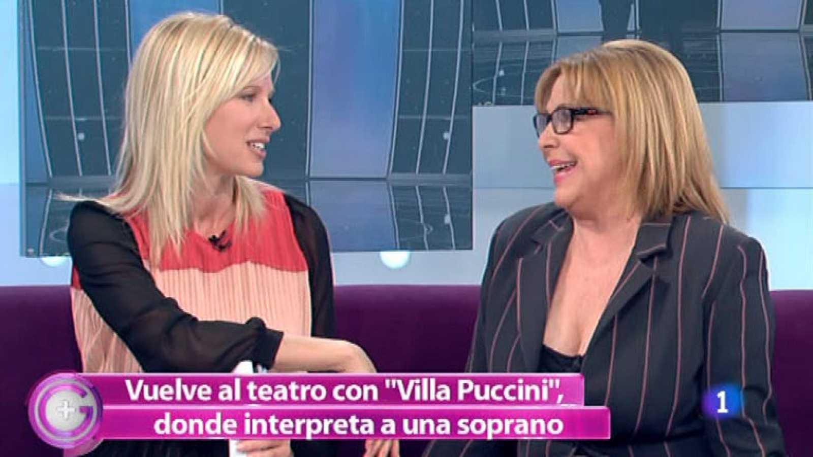 Más Gente - María Luisa Merlo encarna a la diva de 'Villa Puccini'