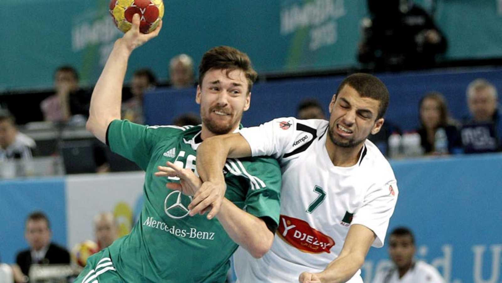 Resultado de imagen de argelia balonmano