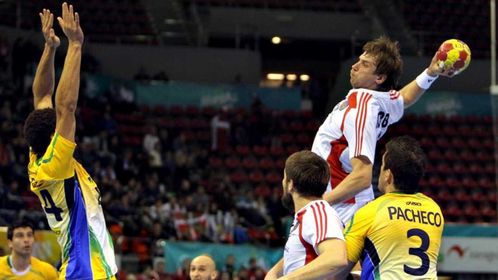 Mundial de Balonmano - 1/8 de final: Rusia - Brasil