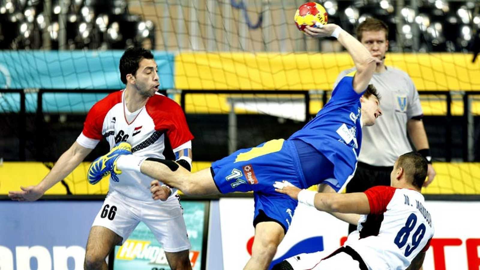 Mundial de Balonmano - 1/8 de final: Eslovenia - Egipto