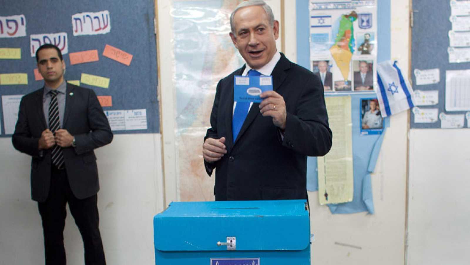Israel celebra elecciones con Netanyahu como favorito