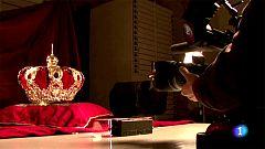 Rodaje de los símbolos reales de la monarquía española