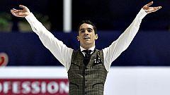 Javier Fernández se cuelga la primera medalla del patinaje español