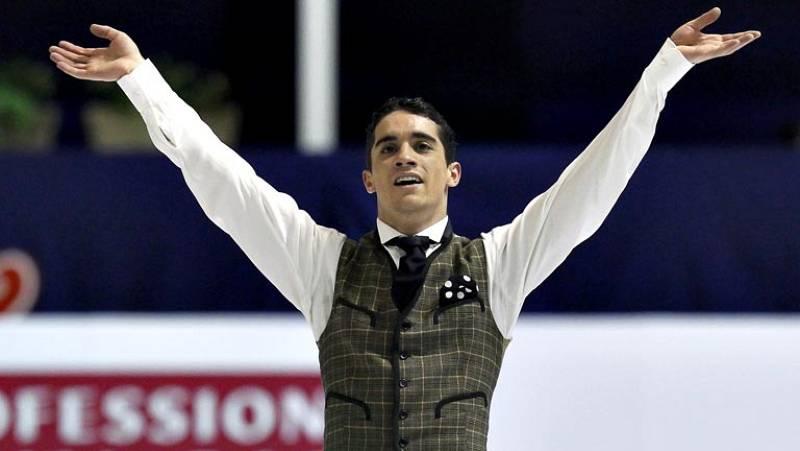 El español Javier Fernández ha conseguido hoy la medalla de oro en el programa libre de los Campeonatos de Europa de patinaje artístico que se disputan en Zagreb. Fernández, de 21 años, que iba segundo después del programa corto, logró el mayor éxito