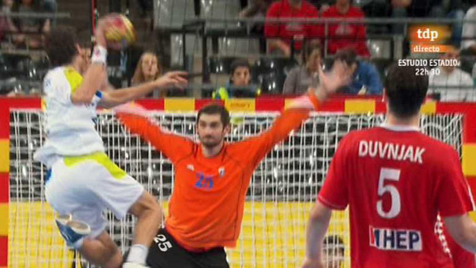 Mundial de Balonmano - Tercer y cuarto puesto: Croacia-Eslovenia - Ver ahora