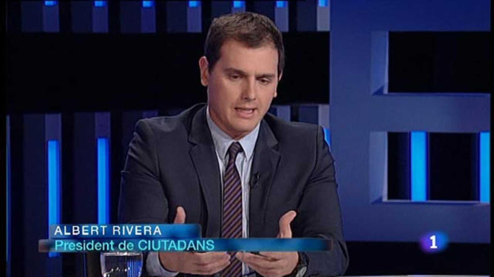 El Debat de La 1 - Entrevista a Albert Rivera