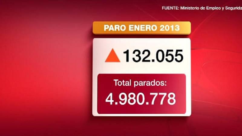 El paro registrado sube en 132.000 personas en enero