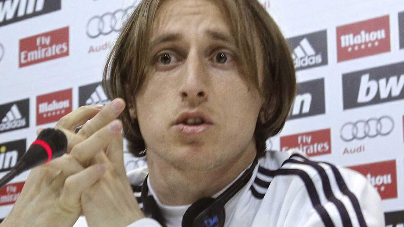"""Modric: """"Manchester y Barcelona definirán nuestra temporada"""""""