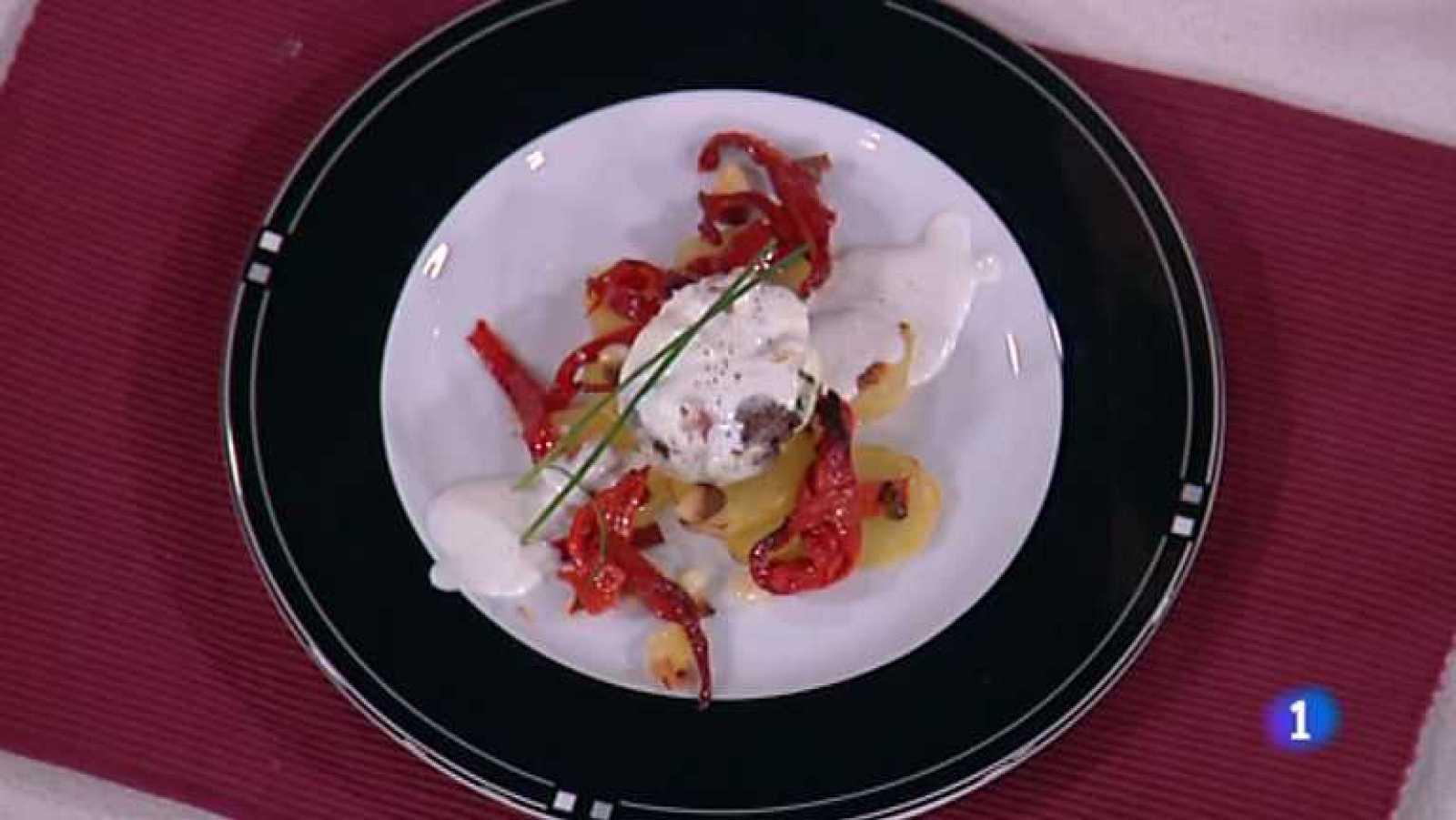 Cocina con Sergio - Huevos escalfados con morcilla - ver ahora